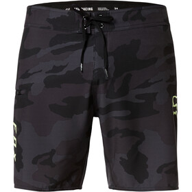 "Fox Overhead Camo 18"" stretch boardshorts FHE Herrer, black camo"